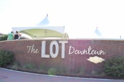 the lot sign
