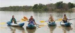 Kayaking, Oliver Nature Park, Mansfield, TX