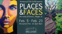 Faces & Places Art Exhibit, Mansfield ISD Center for the Performing Arts, Mansfield, TX