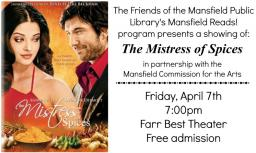 Mansfield Reads, The Mistress of Spices movie