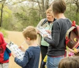 Oliver Nature Park, Scavenger Hunt Hike, Mansfield, TX