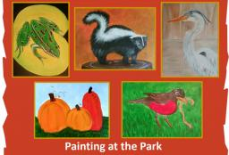 Oliver Nature Park, Painting at the Park, Mansfield, TX