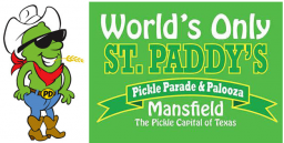 World's Only St. Paddy's Pickle Parade & Palooza, Mansfield, TX