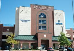 MISD Vernon Newsom Stadium - front view
