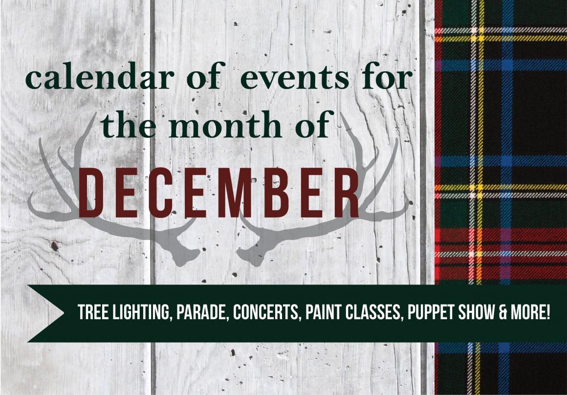 December calendar of events, Mansfield, TX