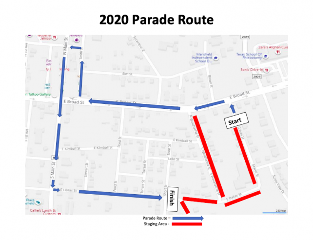 pickle parade map