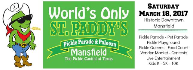 2017 Pickle Parade and Palooza, Mansfield, TX