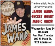 James Wand, Secret Agent Magic Show, Farr Best Theater, Mansfield, TX