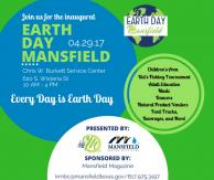 Keep Mansfield Beautiful, Earth Day Event