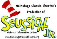 Seussical, Jr. Mainstage Classic Theatre, Mansfield, TX
