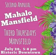 Third Thursday, Mahalo Mansfield, Mansfield, TX