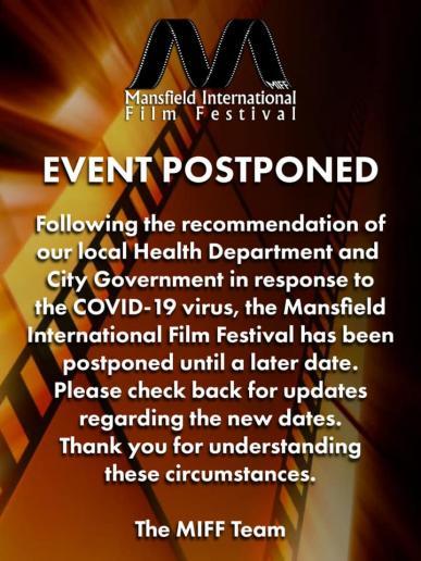 MIFF Postponed