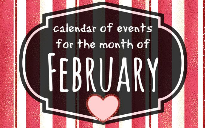 February 2018 calendar of events, Mansfield, TX