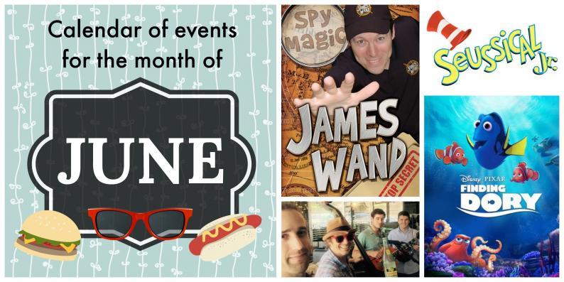 calendar of events, June, Mansfield TX