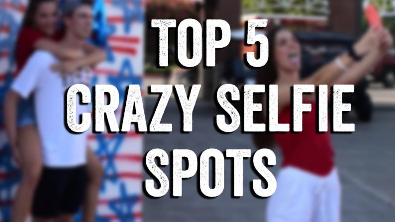 top 5 selfie spots